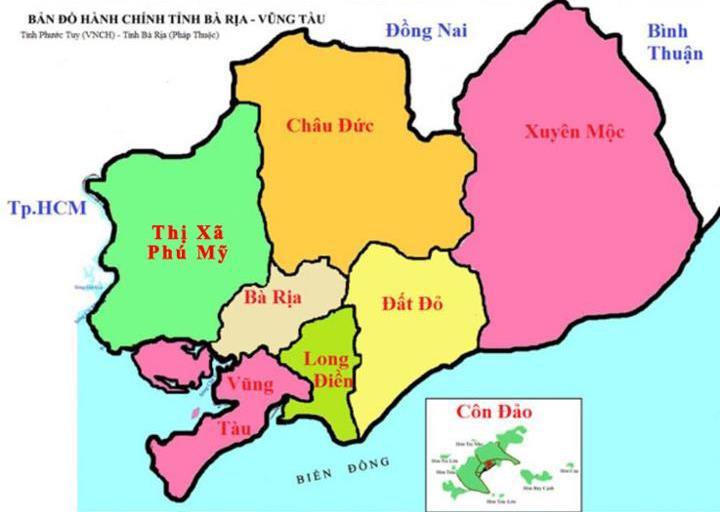 Bản đồ vị trí Phú Mỹ