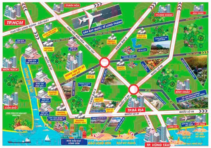 Hệ thống giao thông của Phú Mỹ