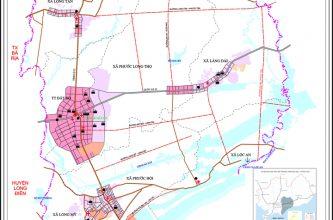 Quy hoạch huyện Đất Đỏ