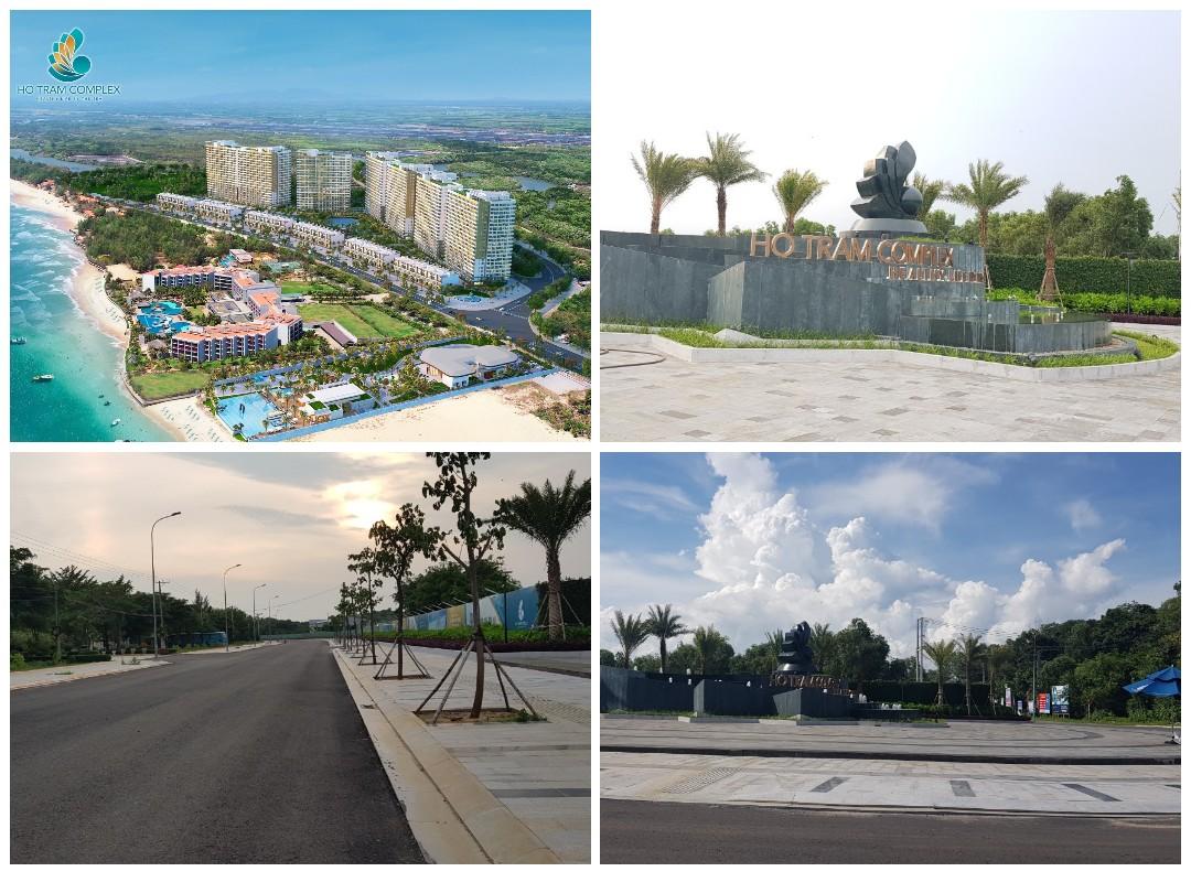 Công trình dự án Hồ Tràm Complex