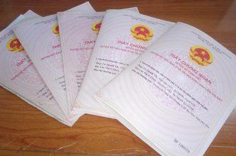 Cấp giấy chứng nhận sổ đỏ