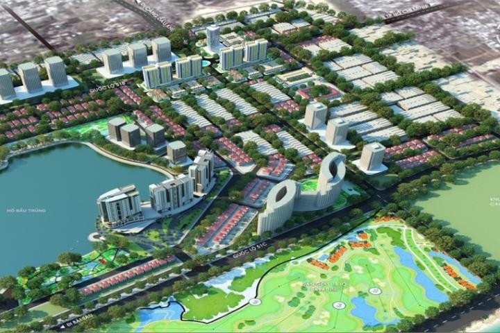 Điều chỉnh quy hoạch hồ Bàu Trũng
