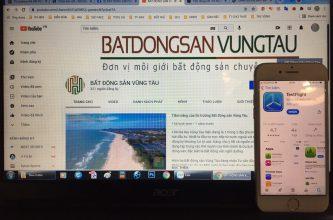 Ứng dụng sổ tay quản lý nhà đất Vũng Tàu