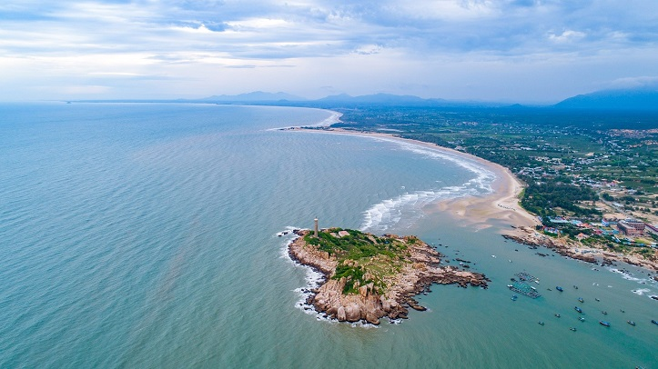 đường ven biển Bình Châu Bình Thuận